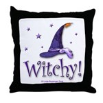 Witchy Hat Throw Pillow