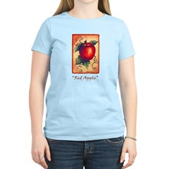 Red Apple Women's Light T-Shirt