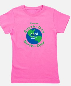 Unique Earth day Girl's Tee
