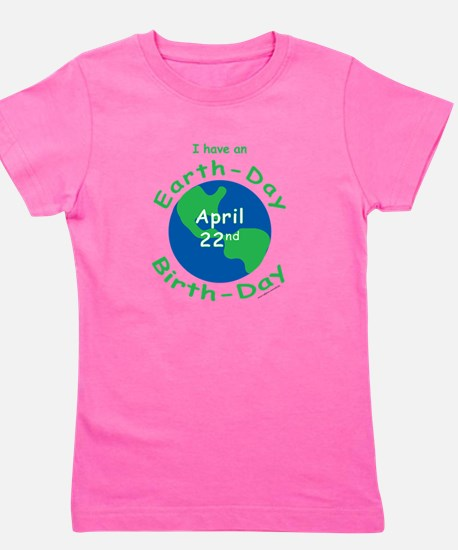 Unique Save planet Girl's Tee