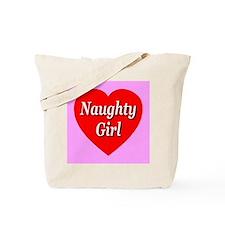 Naughty Girl Tote Bag
