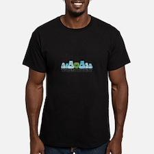 Lab Beakers Womens T-Shirt