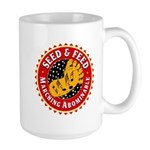 seed and feed Mugs