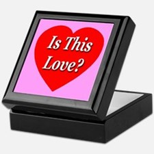 Is This Love? Keepsake Box