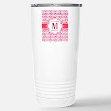 Custom Monogram, Cute G Travel Mug