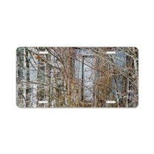 Farm Shed Aluminum License Plate