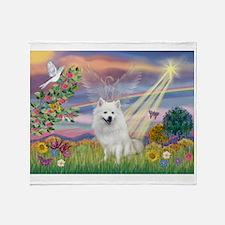 Cloud Angel / Eskimo Throw Blanket