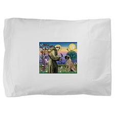 Saint Francis / Bullmastiff Pillow Sham