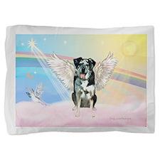 Angel / Catahoula Leopard Dog Pillow Sham
