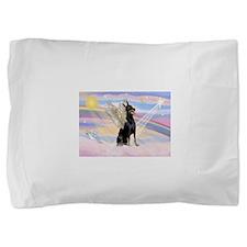 Dobie Angel in Clouds Pillow Sham