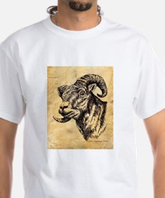 Bighorn Sheep Sepia Shirt