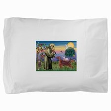 St Francis / Irish Setter Pillow Sham