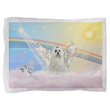 Maltese Angel (C) Pillow Sham
