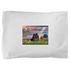 Cloud Angel /Pomeranian (brin Pillow Sham