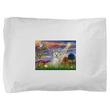 Card-CldStar-WestieSab.png Pillow Sham