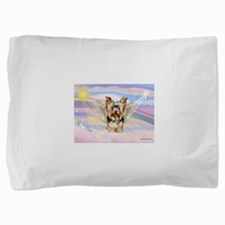 Yorkie (#17) in Clouds Pillow Sham