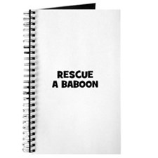 rescue a baboon Journal
