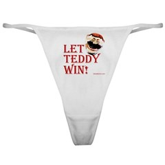 Teddy Roosevelt Thong with #26 on the back