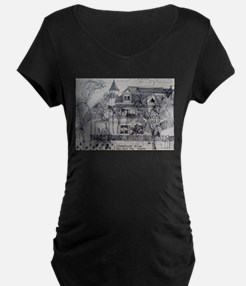 Southernmost House - Key West, F Maternity T-Shirt