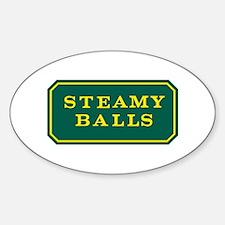 STEAMY BALLS! Decal