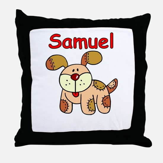 Samuel Puppy Throw Pillow
