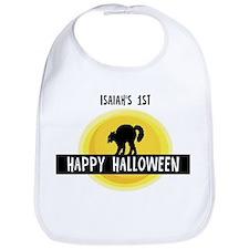 1st Halloween: Isaiah Bib