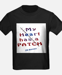 My Heart has a patch.jpg T-Shirt