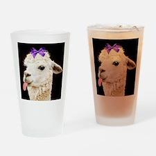 Alpaca or LLama? Drinking Glass