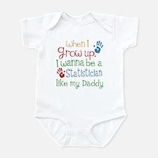 Statistician Like Daddy Infant Bodysuit