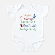 Stock Trader Like Daddy Infant Bodysuit
