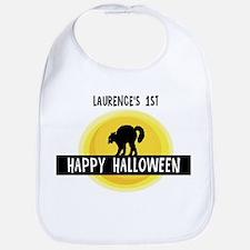 1st Halloween: Laurence Bib