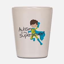 Autism Superpower Shot Glass