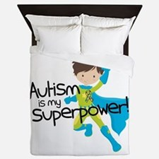 Autism Superpower Queen Duvet