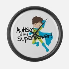 Autism Superpower Large Wall Clock
