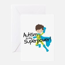 Autism Superpower Greeting Card