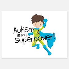 Autism Superpower Invitations
