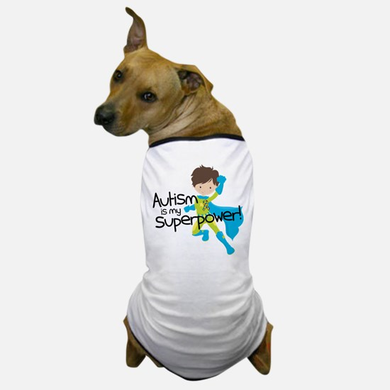 Autism Superpower Dog T-Shirt