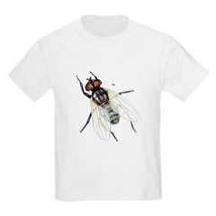 Fly Insect (Front) Kids T-Shirt