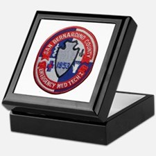 San Bernardino County EMT Keepsake Box