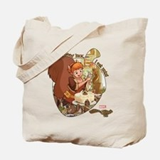 Squirrel Girl Nuts Tote Bag