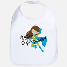 Autism Superpower Bib