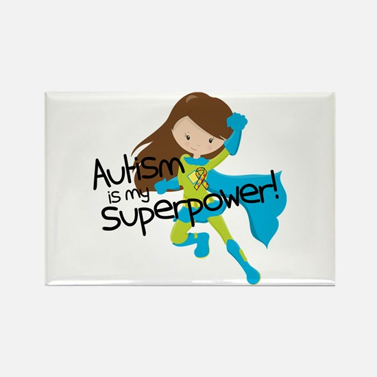 Autism Superpower Rectangle Magnet