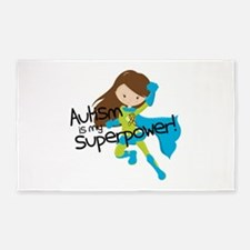 Autism Superpower Area Rug