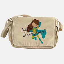 Autism Superpower Messenger Bag