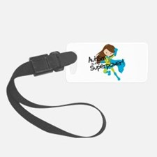 Autism Superpower Luggage Tag