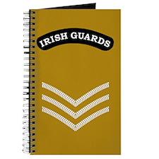 Irish Guards LSgt<BR> Deployment Log Book