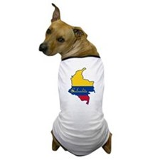 Cool Colombia Dog T-Shirt