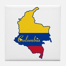Cool Colombia Tile Coaster