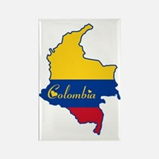 Cool Colombia Rectangle Magnet