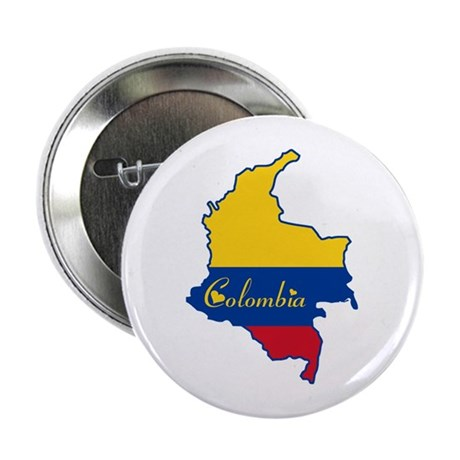 "Cool Colombia 2.25"" Button (10 pack)"